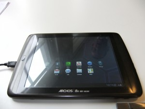 Archos - 8.0 G9 Android Tablet Front View