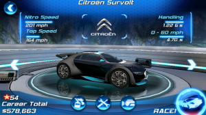 Asphalt 6 Adrenaline HD Citroen Survolt