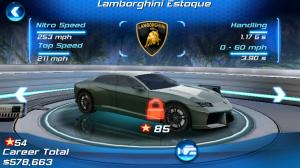 Asphalt 6 Adrenaline HD Lamborghini Estoque