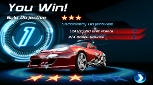 Asphalt 6 Adrenaline HD You Win Goal Objectives