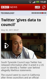 BBC News - In article view with video.