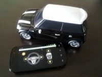 BeeWi Mini Cooper S with Bluetooth Control Pad App