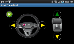 Beewi Bluetooth Control Pad