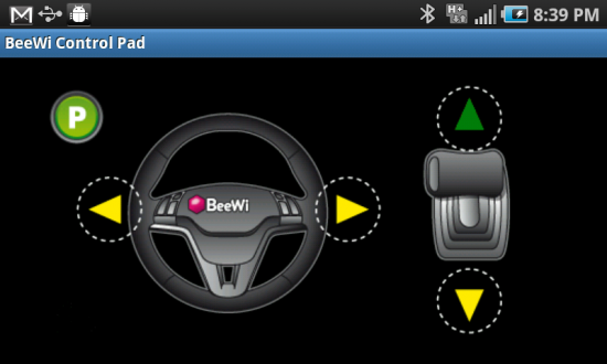 BeeWi Bluetooth Control Pad plus Remote Control Mini Cooper S Car you ride with your Phone!