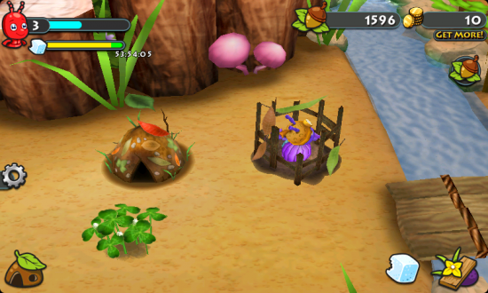 Bug village a cute dazzling 3d colony building game for 3d house building games online