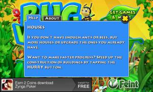 Bug Village - Help