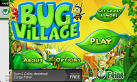 Bug Village - Main Menu