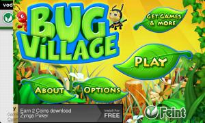 Bug Village - Main Menu