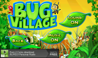 Bug Village - Options