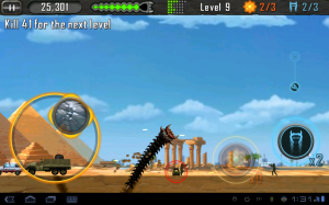 Death Worm Game Play 2