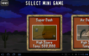 Death Worm Mini Games