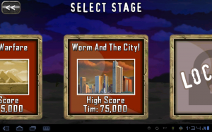 Death Worm Stage Select