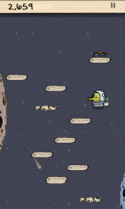 Doodle Jump in Space!