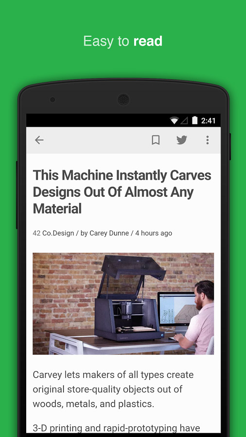 Feedly – a consolidated & superb news reader