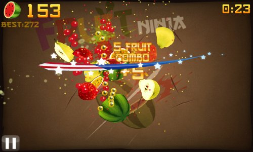 Fruit Ninja is a Juicy, Addictive Slicing Game