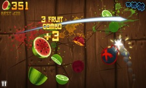 Fruit Ninja in Game Play 4