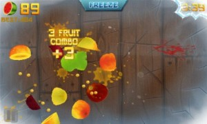 Fruit Ninja in Game Play 5
