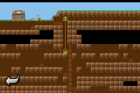 Gem Miner is a Strangely Compelling Old-School Style Game for Android