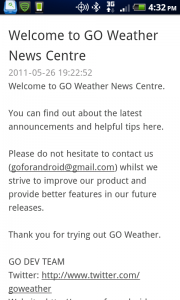 Go Weather News Center
