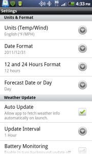 Go Weather Settings 1