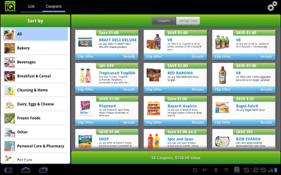 Grocery iQ & Tablet Edition. An Amazingly Robust Grocery Shopping Application!