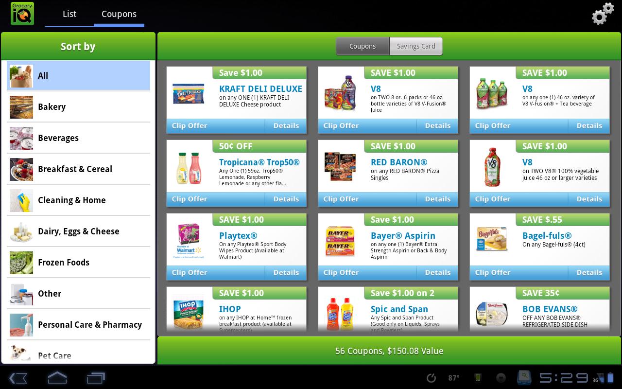 digital grocery coupons app