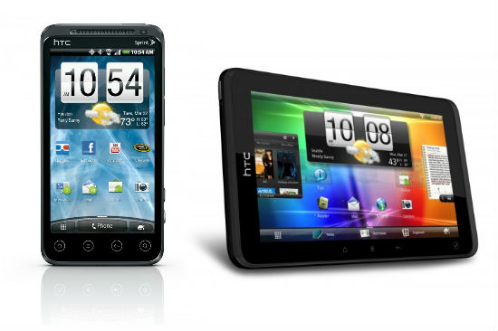 HTC EVO 3D and HTC EVO View 4G available June 24th for $200 & $400