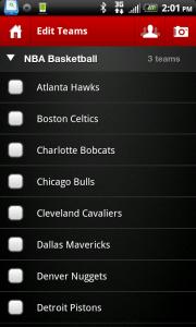 Hitpost Sports Team Select