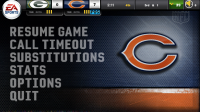 Madden NFL 11 Pause Game Menu