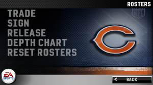 Madden NFL 11 Rosters