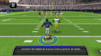 Madden NFL 11 in Game Play 3
