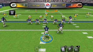 Madden NFL 11 in Game Play 4