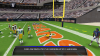 Madden NFL 11 in Game Play 5
