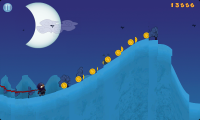 Moon Chaser - Last hill of the level.