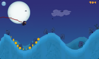 Moon Chaser - Looks like I'm about to smash into the side of the hill. Brace yourself.