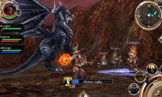 Gameloft launches Order & Chaos Online, a 3D MMORPG game for Android, iOS