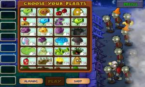 Plants vs. Zombies Choose Plant Weapons