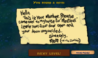 Plants vs. Zombies Note from the Zombies