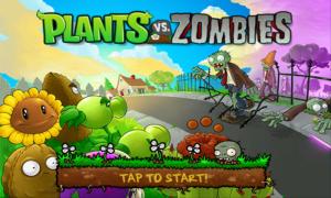 Plants vs. Zombies Start Screen