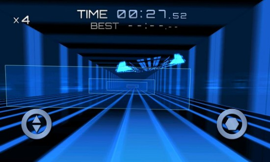 Return Zero a TRON-Like Mega-Fast Tunnel Racing Android Game