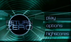 Return Zero - Menu