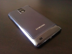 Samsung Infuse 4G Back Angle View 1