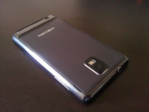 Samsung Infuse 4G Back Angle View 2