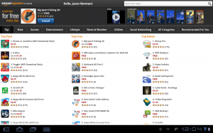 Samsung Galaxy Tab 10.1 Amazon App Store