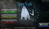 SpecTrek - Menu