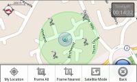 SpecTrek - Radius Mode with menu