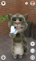 Talking Tom Cat - Eat the birdie!