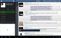 Tweetcaster HD Main Screen