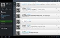 Tweetcaster HD User Profile