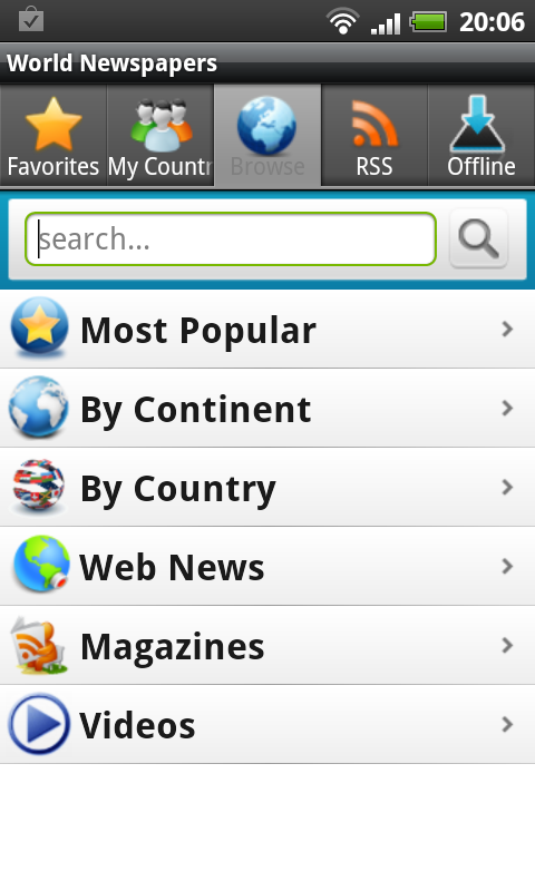 World Newspapers, access Thousands of Newspapers Worldwide